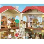 4歳の女の子が喜ぶシルバニアファミリーその4【赤い屋根の大きなお家】