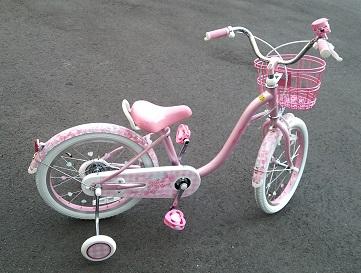 4歳の女の子に「メゾピアノ」の自転車を買った理由、18インチを選んだ理由も