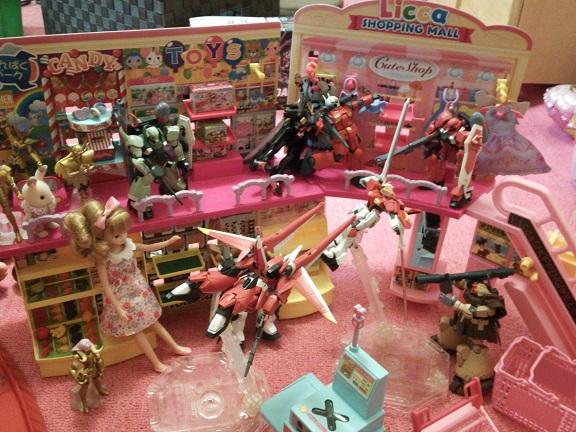 【大体】パパと娘のリカちゃんショッピングモールの正しい?楽しみ方その2【別売り】